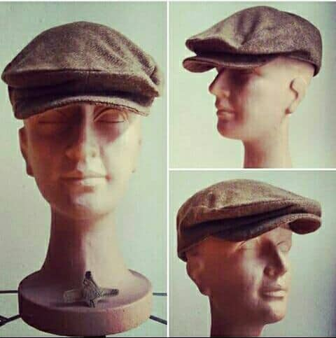 Tweed Golf Cap by Feine Schnitte Berlin