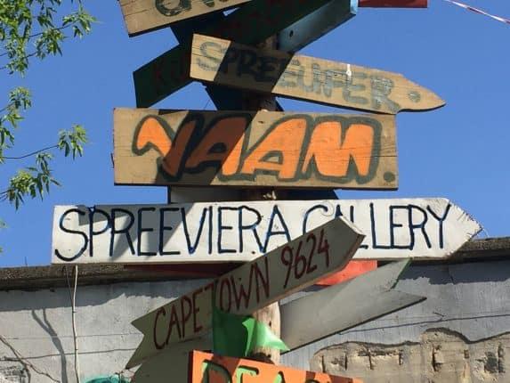 YAAM Strandbar Berlin mit Street Food Market zum Thema Karibische Küche