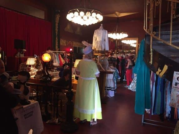 Ballhaus Berlin beim Vintage Market am Sonntag