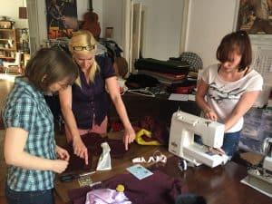 Work in progress - Sewing workshop @Feine Schnitte Berlin