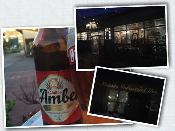 Croatian beer @Vintage Industrial Bar, Zagreb