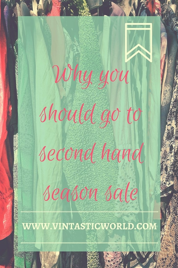 Why you should go to second hand season sale
