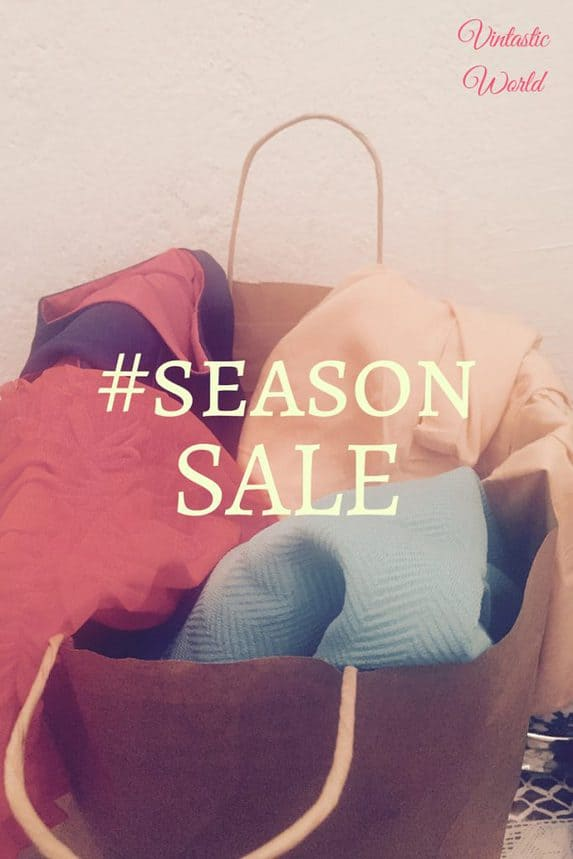 My season sale treasures - Schlussverkauf, Season Sale im Secondhand