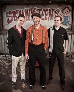 Skinny-Teens Band-Foto Trio