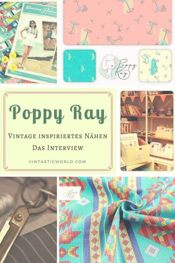 Poppy Ray\'s Näh-Welt im Interview - Vintage Nähen & Vintage Stoffe