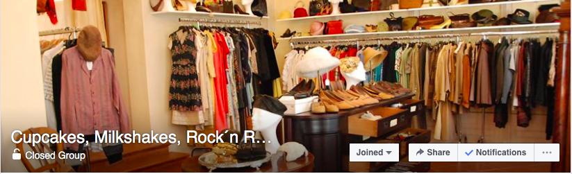 Cupcakes, Milkshakes, Rock´n Roll - Flohmarkt - Shopping group on Facebook