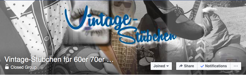 Vintage-Stübchen für 60er 70er Mode Facebook shopping group