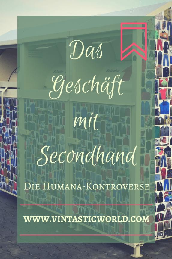 Die Humana-Kontroverse - Das Geschäft mit Secondhand-Kleidung