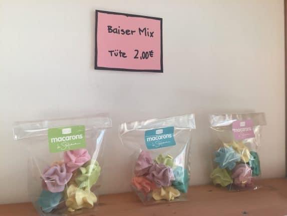 Mini-Baiser - bunter Küsschen-Mix - von Macarons de Stéphane