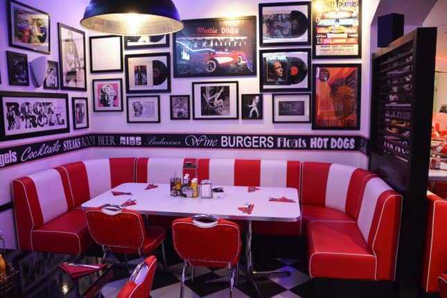 American Diner Table