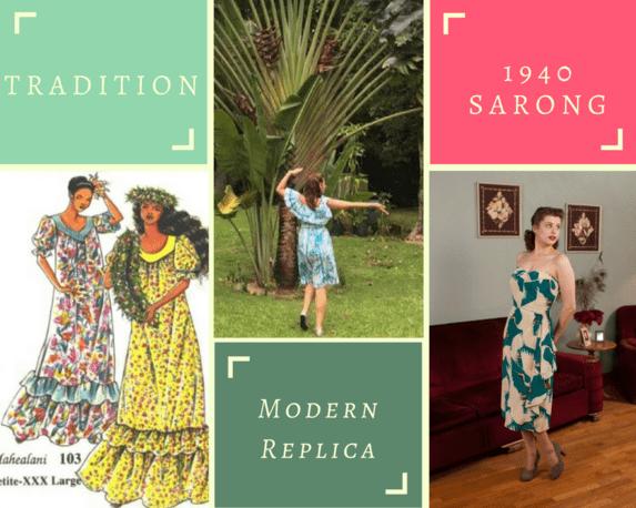 Hawaiian Dresses Mu'umu'u & Sarong