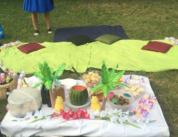 Last Minute Geburtstags-Luau im Park