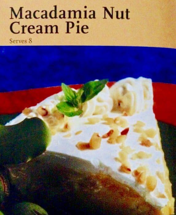 """Macadamia Nut Cream Pie aus """"Tasten & Flavors of Oahu"""""""