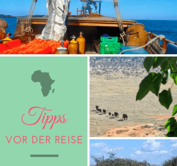 Tipps vor der Reise - Nach Kenia mit dem richtigen Gepäck