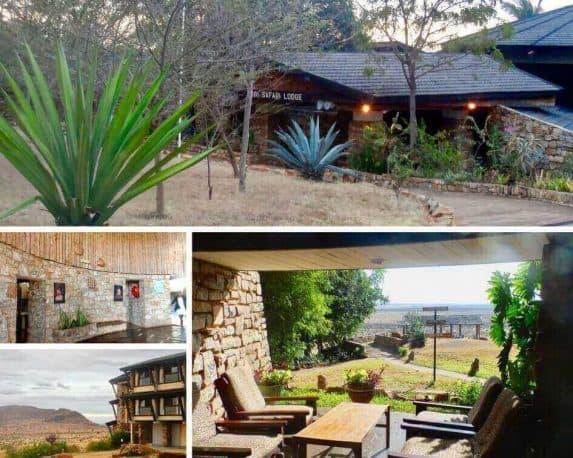 Voi Safari Lodge - Kenia Safari Foto Collage