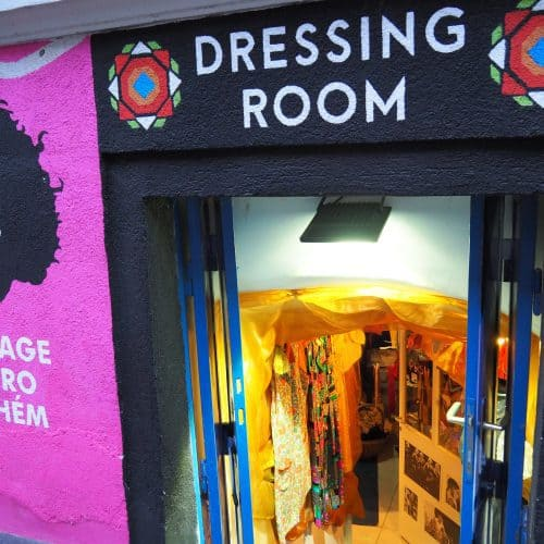 Dressing Room, Budapest