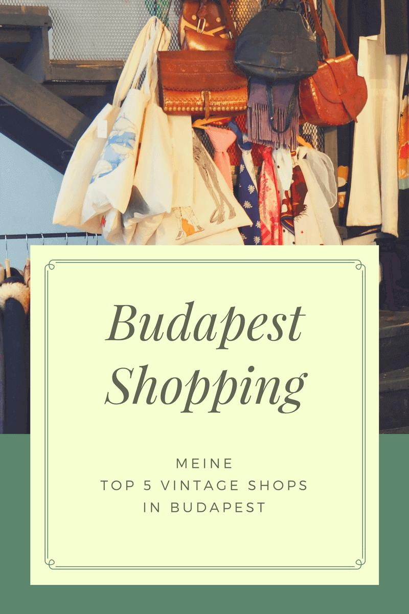 Meine Top 5 Vintage Shops in Budapest. Ein Paradies für Secondhand Shopping.