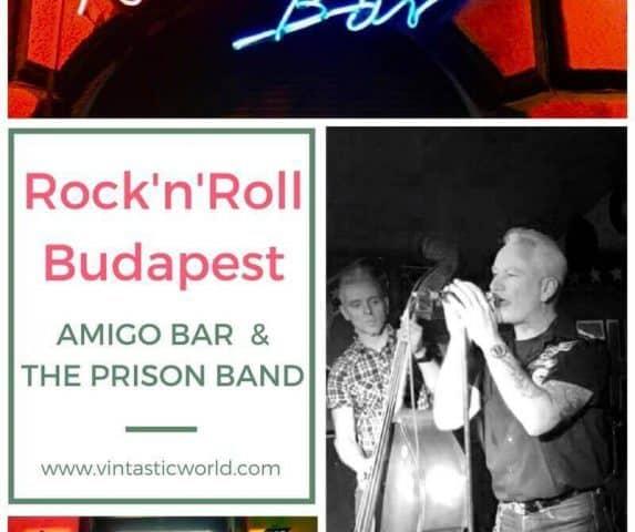 RnR Budapest - Amigo Bar & Prison Band