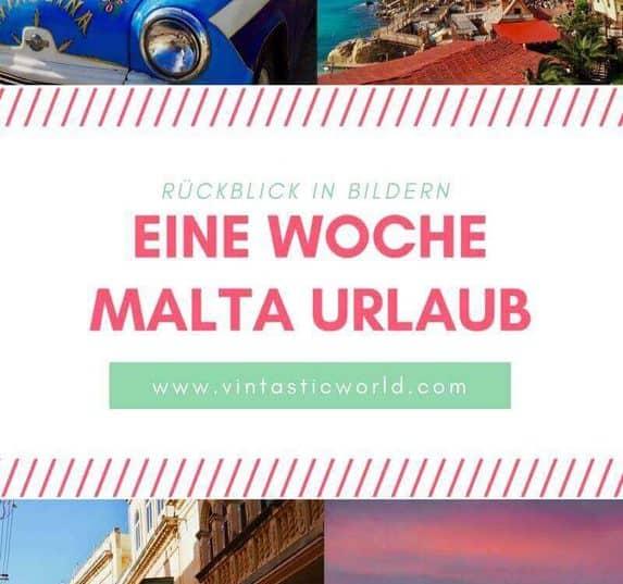 Rückblick auf eine Woche Malta Urlaub im Winter. Malta im Winter.