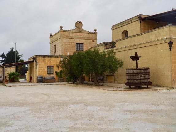 Kulinarisches Sightseeing Malta: Meridiana Weingut Ta'Qali