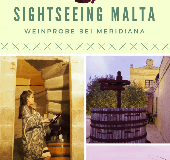 Kulinarisches Sightseeing Malta: Weinprobe bei Meridiana Wine Estate Malta