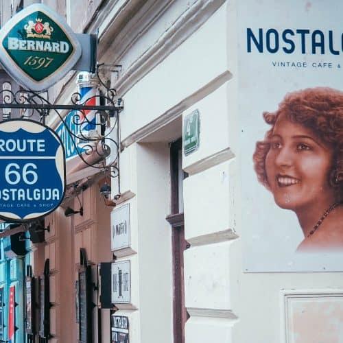 NostalgijaVintage Café, Ljubljana