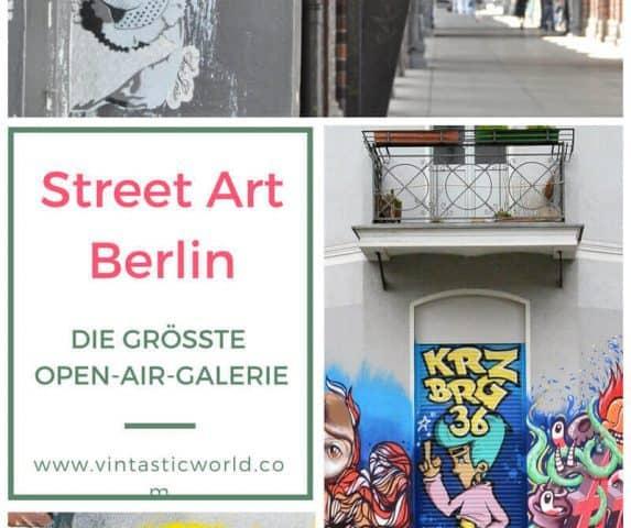 Street Art Berlin: Die urbane Kunst in der größten Street Art Gallery Berlin. Kimo von Rekowski und Street Art Künstler sorgen für eine neue Attraktion.