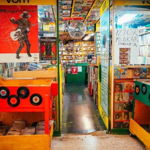 VOM Record Store, Ljubljana