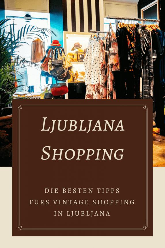 b7c516f460f20 Eine Ljubljana Shopping Tour zu den besten Vintage   Secondhand Shops.  Ljubljana hat einiges zu