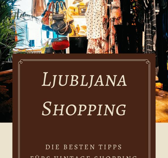 Eine Ljubljana Shopping Tour zu den besten Vintage & Secondhand Shops. Ljubljana hat einiges zu bieten. Spotte den besten Secondhand Shop Ljubljana & mehr.