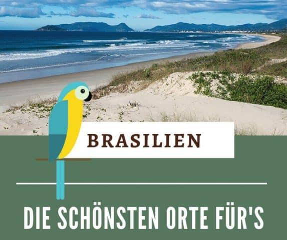 Die schönsten Orte Brasiliens inspirieren zum Reisen & für's perfekte Urlaubsfoto. Ein paar der most instagrammable Places Brasilien findest du hier.