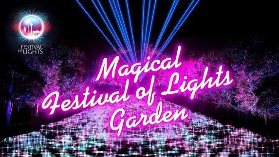 Magical Festival of Lights Garden mit 30 Lichtinstallationen vom 11. – 27. Oktober 2019 in den Gärten der Welt