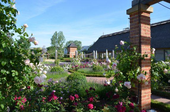 Englischer Garten in den Gärten der Welt Berlin